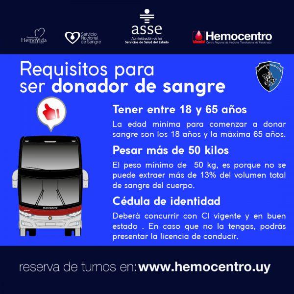 Posteo campaña donacion de sangre 2